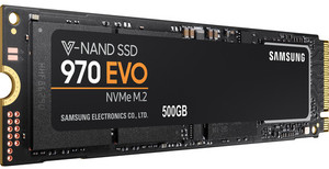 Samsung 970 EVO NVMe M.2 500GB Internal SSD