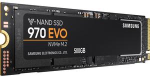 Samsung 970 EVO NVMe M.2 500GB Internal SSD
