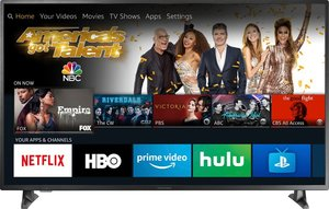 Insignia NS-55DF710NA19 55-inch 4K HDR Smart TV + Amazon Echo Dot (3rd Gen)
