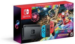 Nintendo Switch Mario Kart 8 Deluxe Bundle (Gray) + $25 Gift Coupon