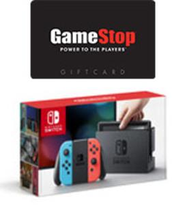 Nintendo Switch (Neon Joy-Con) + $25 Gift Card