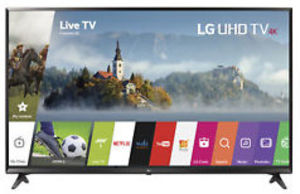 LG 55UJ6300 55-inch 4K HDR Smart TV (Refurbished)