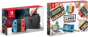 Nintendo Switch (Neon Joy-Con) + Nintendo Labo Kit