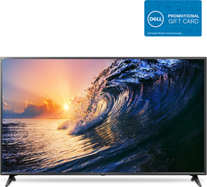 LG 65UK6090 65-inch 4K HDR Smart LED TV + $100 eGift Card