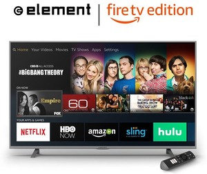 Element EL4KAMZ5517T 55-inch 4K Smart LED Fire TV Edition