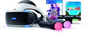 PlayStation VR Blood & Truth and Everybody's Golf Bundle
