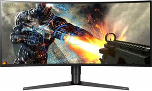 LG 34GK950G-B 34-inch UltraWide QHD Curved G-Sync Gaming Monitor