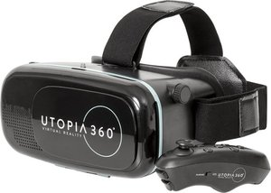 ReTrak Utopia 360 Virtual Reality Headset with Bluetooth Controller
