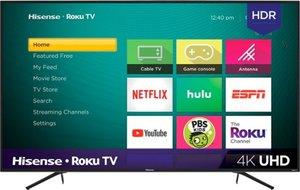 Hisense 75R7E2 75-inch 4K HDR Roku Smart LED TV