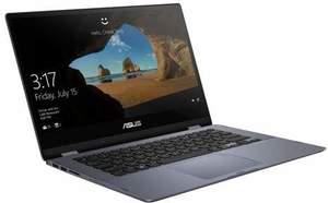 Asus VivoBook Flip 14, Core i3-8145U, 4GB RAM, 128GB SSD