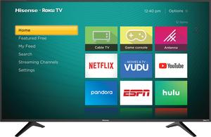 Hisense 50R6040E 50-inch 4K HDR Roku Smart LED TV
