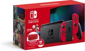 Nintendo Switch Version 2 (Neon or Gray Joy-Con) + Minecraft