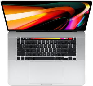 Apple MacBook Pro 16 MVVL2LL/A, Core i7-9750H 2.6GHz, 16GB RAM, 512GB SSD, Radeon Pro 5300M 4GB (Silver)