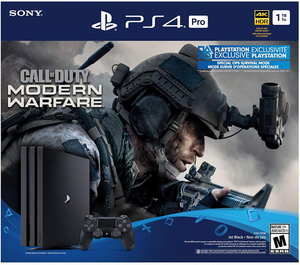 PlayStation 4 Pro 1TB COD Modern Warfare Bundle
