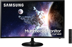 Samsung LC32F39MFUNXZA 32-inch 1080p Curved LCD Monitor with Speakers