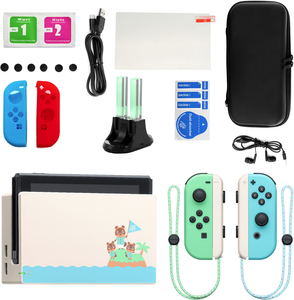 Nintendo Switch Animal Crossing New Horizon Edition with Accessories