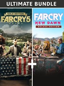 Far Cry New Dawn Deluxe + Far Cry 5 Gold Bundle (PC Download)