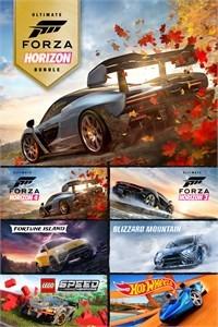 Forza Horizon 4 and Forza Horizon 3 Ultimate Editions Bundle (Xbox One Download)