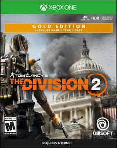 Tom Clancy's The Division 2 Steelbook Gold Edition (Xbox One)