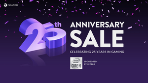 Fanatical 25th Anniversay Sale