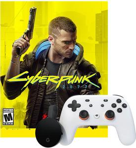 Cyberpunk 2077 (Stadia) + Chromecast Ultra + Stadia Controller