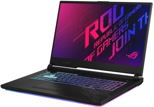 Asus ROG Strix G17, Core i7-10750H, GeForce RTX 2070, 16GB RAM, 512GB SSD