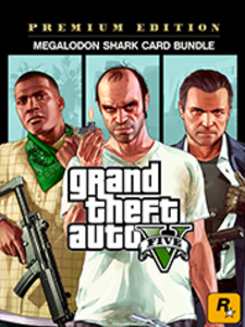 Grand Theft Auto V: Premium Edition & Megalodon Shark Card Bundle (PC Download)