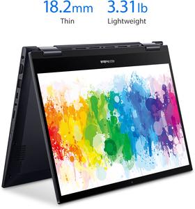 Asus VivoBook 14 Flip 2-in-1, Ryzen 5 5500U, 8GB RAM, 256GB SSD, 1080p IPS Touch