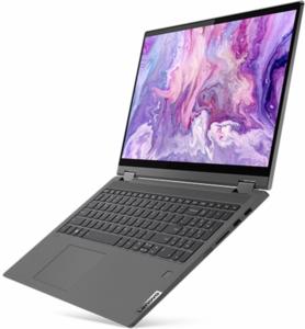 "Lenovo Flex 5 (15"") Core i5-1035G1, 8GB RAM, 256GB SSD, 1080p IPS Touch"
