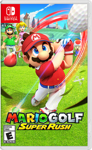 Mario Golf: Super Rush (Nintendo Switch) + Mario Golf Super Rush Bag Tag